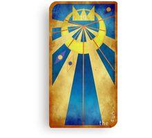 Major Arcana 19 - The Sun Canvas Print