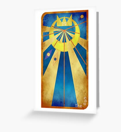 Major Arcana 19 - The Sun Greeting Card