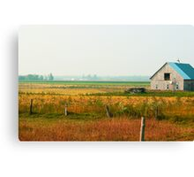 Before the sweat Canvas Print