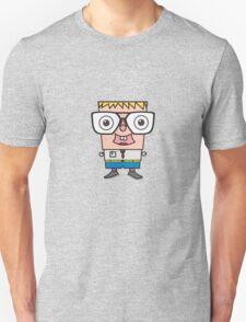 Big glasses kid  T-Shirt
