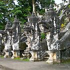 Pura Panataran Agung by YogiColleen