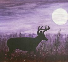 Moon light walk by Dan Wagner