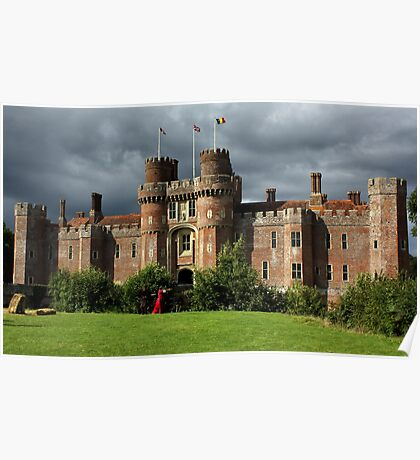Hurstmonceux Castle, East Sussex Poster