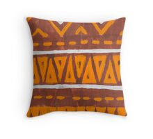 Africa art Throw Pillow