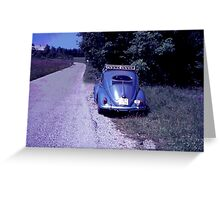 A day out in the VW  Greeting Card