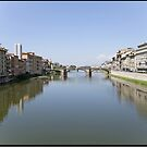 View from Ponte Vecchio by imagic