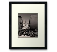 Pemian Basin Oil Framed Print