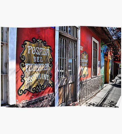 chile - windows & doors Poster