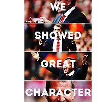 We Showed Great Character by quinnprees