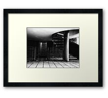 Roof Terrace, Royal Museum Edinburgh Scotland Framed Print