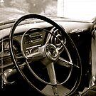 Chiefs Steering Wheel by Jennifer P. Zduniak