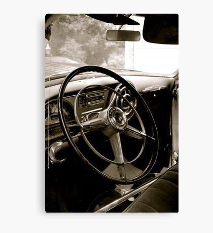 Chiefs Steering Wheel Canvas Print