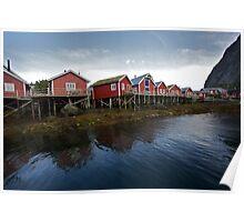 Reine Rorbuer . Lofoten Islands .  Norway . by Brown Sugar . Views (98) thx ! Poster