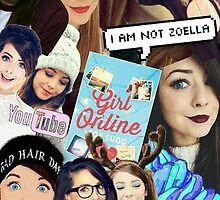Youtube - Zoella Collage by chongjeejee