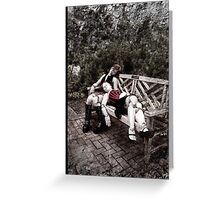 Gothic Photography Series 196 Greeting Card