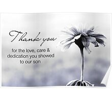 NICU Nurse Day (for care of a son) Poster