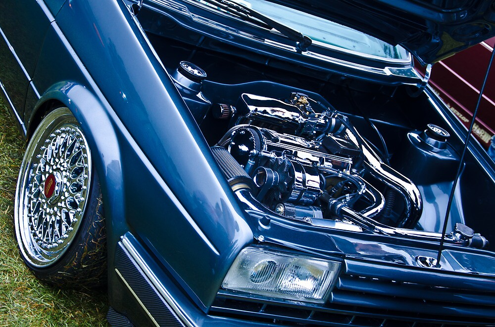 MK2 Golf Engine Shot by Adam Kennedy