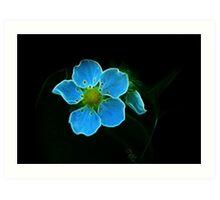Pan's Magical Flower Art Print