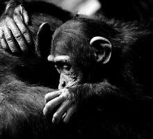 Sad hug by Neil Clarke
