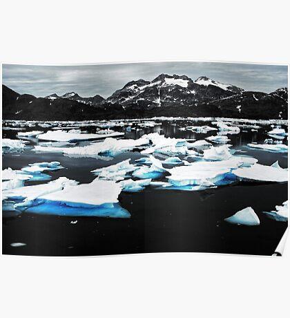 icebergs' graveyard Poster