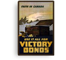 """Faith in Canada"" Canvas Print"