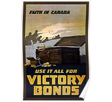 """Faith in Canada"" Poster"