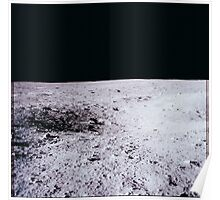 Apollo Archive 0025 Moon Lunar Surface Poster