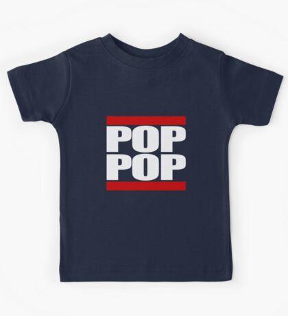 POP POP - Magnitude 'Community' (RUN DMC Parody) Kids Tee
