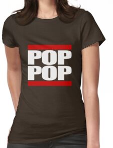 POP POP - Magnitude 'Community' (RUN DMC Parody) Womens Fitted T-Shirt
