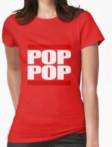 POP POP - Magnitude 'Community' (RUN DMC Parody) Womens Fitted T-Shirt