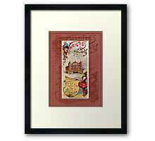 Varieties & Novelties Framed Print