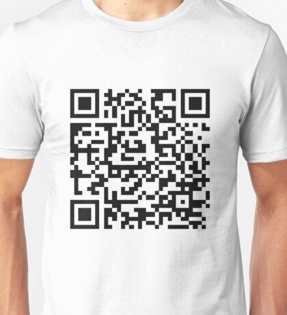 Rick Roll QR t-shirt Unisex T-Shirt