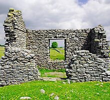 Beam Engine House Remains at Magpie Mine, Sheldon by Rod Johnson