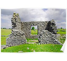 Beam Engine House Remains at Magpie Mine, Sheldon Poster