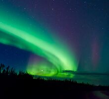The Finale of Sept.3rd/11 Auroras  by peaceofthenorth