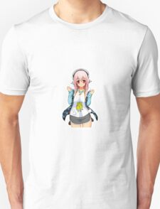 Super Sonico Anime Character (SS045) T-Shirt