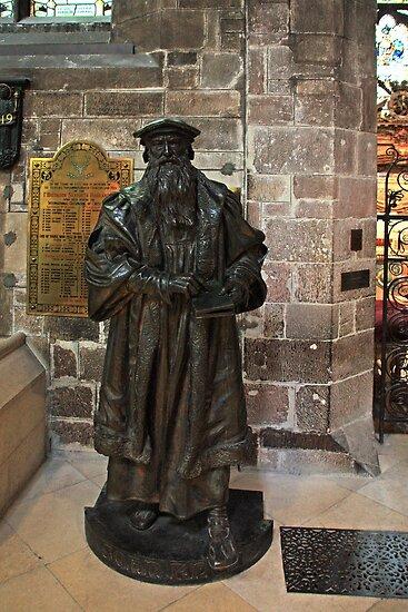 John Knox Statue by Tom Gomez