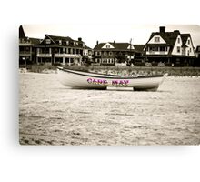 CM Lifeboat Canvas Print