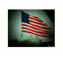 """"""" Liberty & Justice For All """" Art Print"""