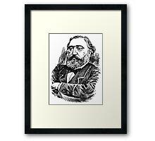 LEON GAMBETTA-FRANCE Framed Print