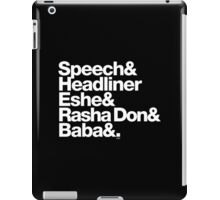 Homage to Speech & Headliner of Arrested Development iPad Case/Skin