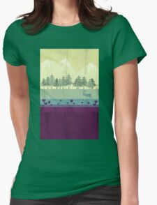 Wildlife Womens Fitted T-Shirt