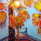 Rainbow Palms by Jacky Murtaugh