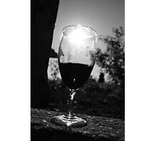Empty Wine Photographic Print