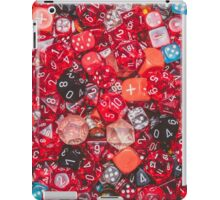 All the red dice iPad Case/Skin