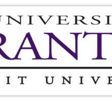 The University of Scranton Sticker