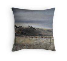 Early morning out of Goulburn Throw Pillow