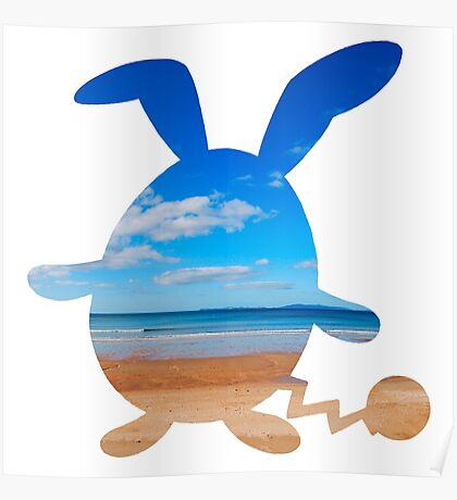 Azumarill used surf Poster
