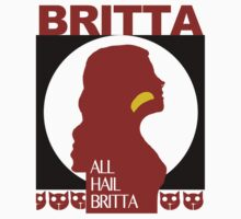 All Hail Britta! One Piece - Short Sleeve