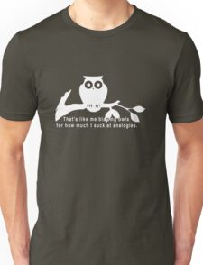 Britta 'Owls' - Community Season 5  Unisex T-Shirt